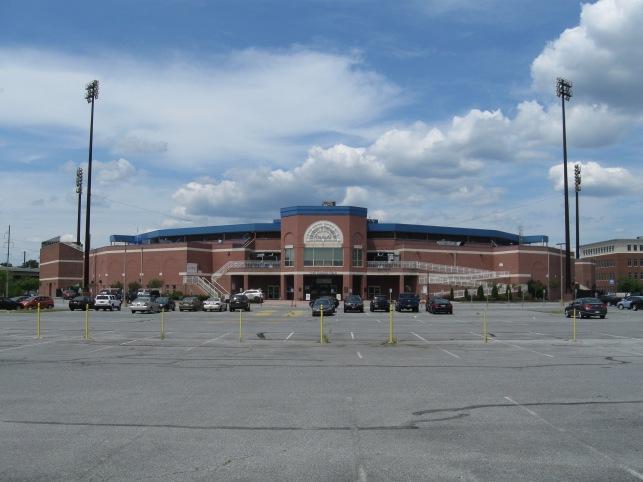 Frawley Stadium Exterior