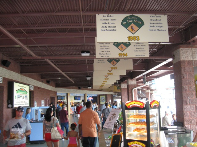 Frawley Stadium Concourse