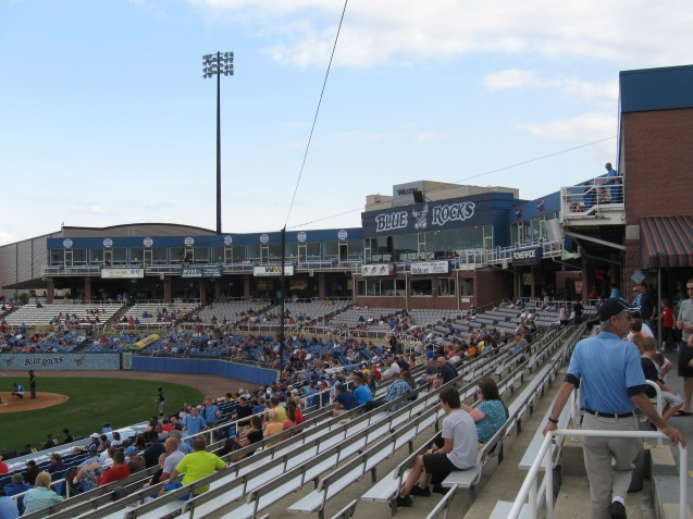 Frawley Stadium Interior