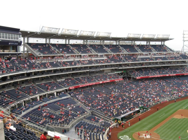 Nationals Park Interior