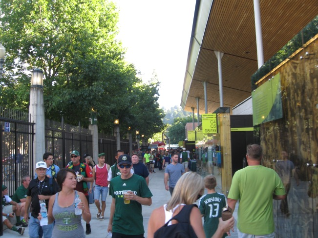 Providence Park Concourse
