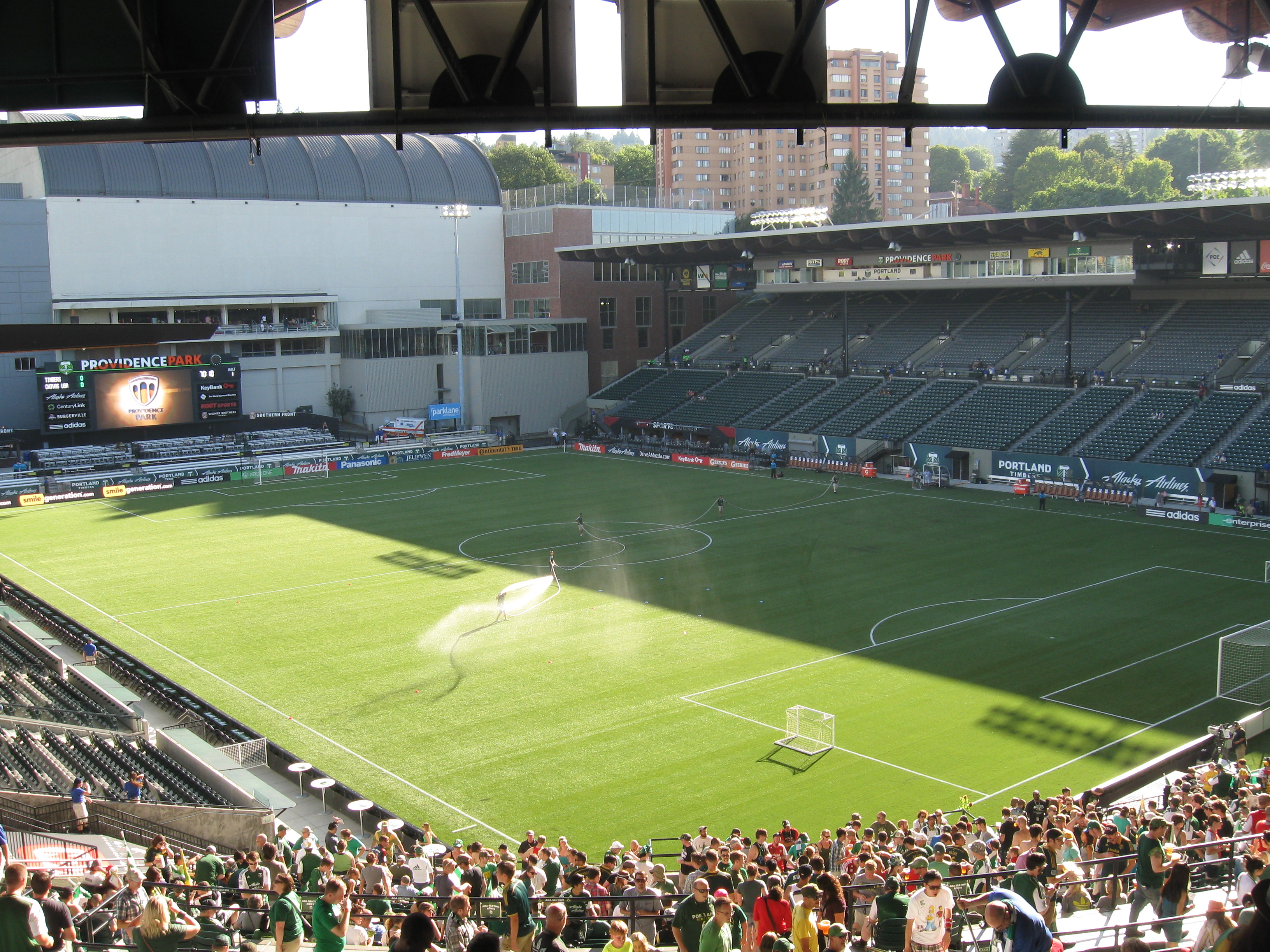 Providence Park Stadium And Arena Visits