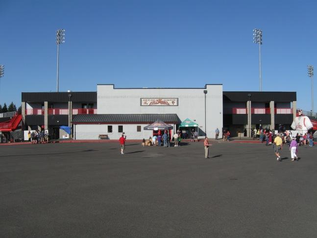 Volcanoes Stadium Exterior