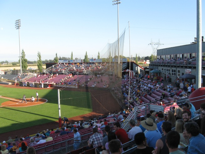 Volcanoes Stadium Interior