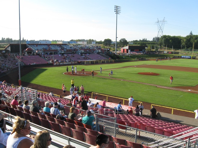 Volcanoes Stadium Interior