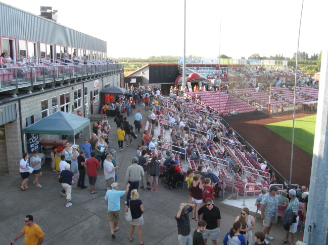 Volcanoes Stadium Concourse
