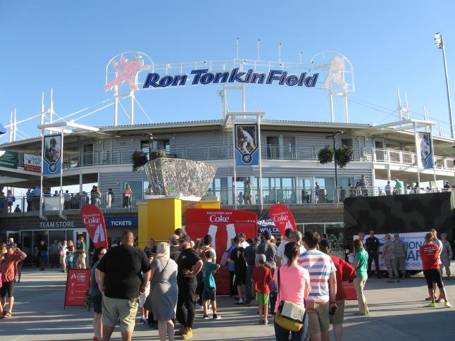 Ron Tonkin Field Exterior