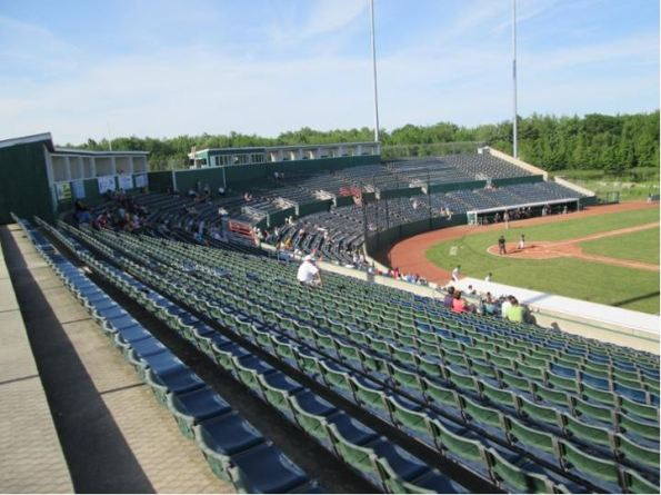 The Ballpark at Old Orchard Beach (Photo Credit - Stadium Journey and Paul Baker)