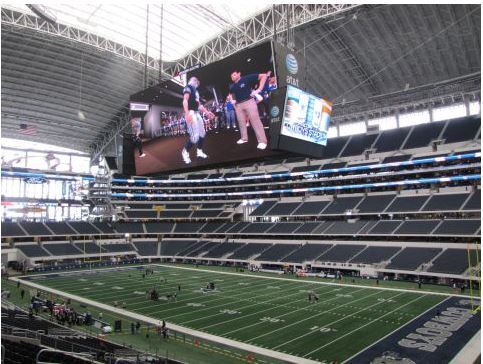 Start a month of football travel with a trip to billion dollar JerryWorld