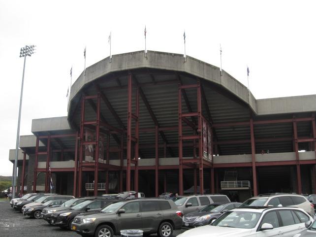 Andy Kerr Stadium Exterior