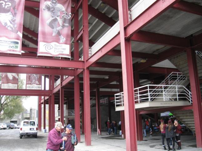 Andy Kerr Stadium Concourse