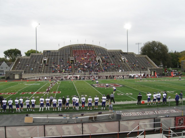 Andy Kerr Stadium Interior