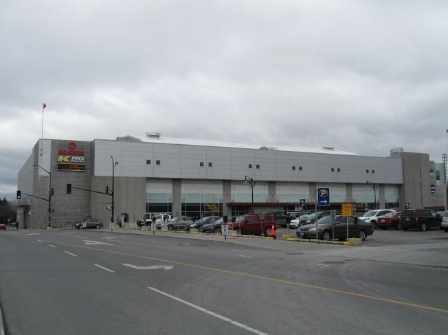 K-Rock Centre Exterior