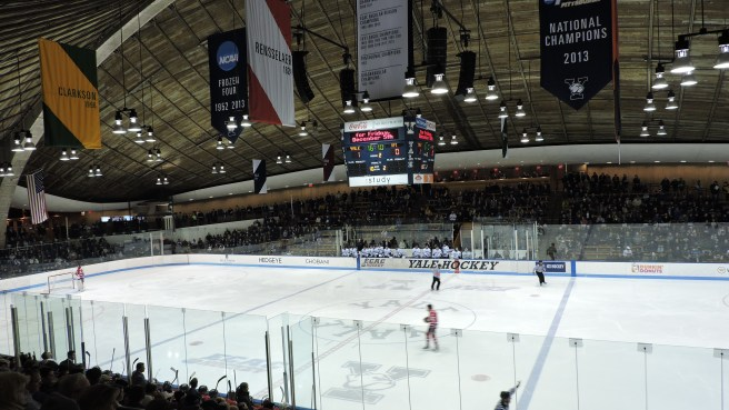 Ingalls Rink Arena Interior