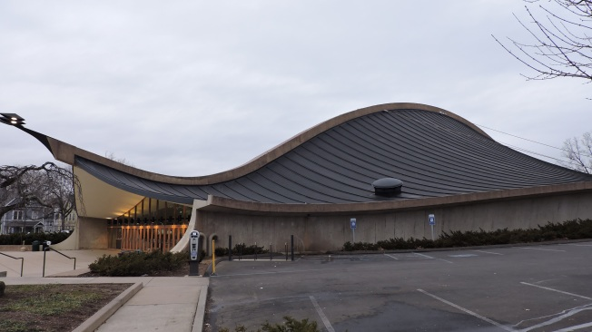Ingalls Rink Exterior