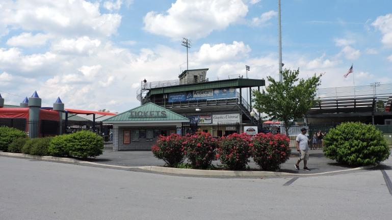 Municipal Stadium Exterior