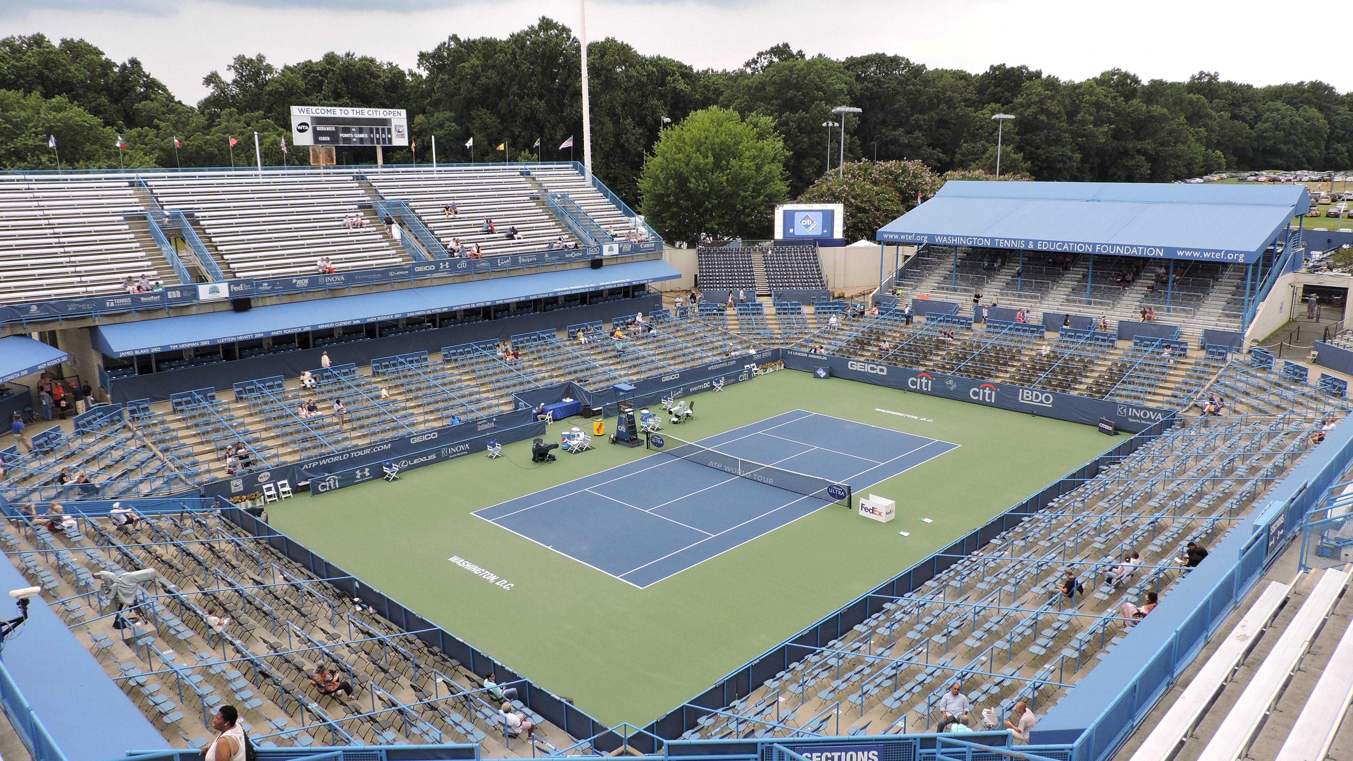 160 Rock Creek Park Tennis Center 171 Stadium And Arena Visits