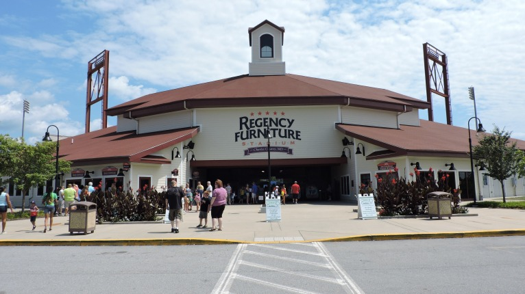 Regency Furniture Stadium Exterior