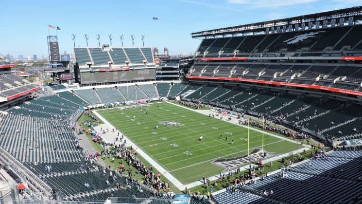 Lincoln Financial Field Interior