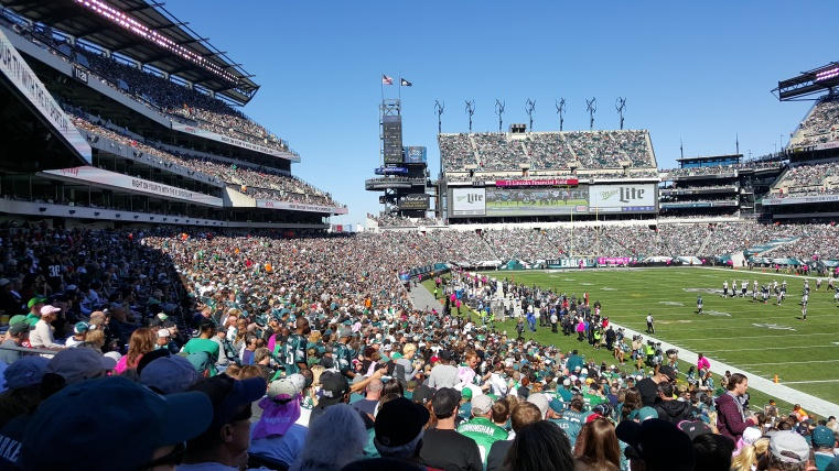 Lincoln Financial Field Interor