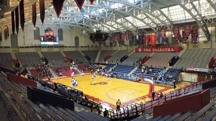 Palestra and Playoffs together is mouthwatering