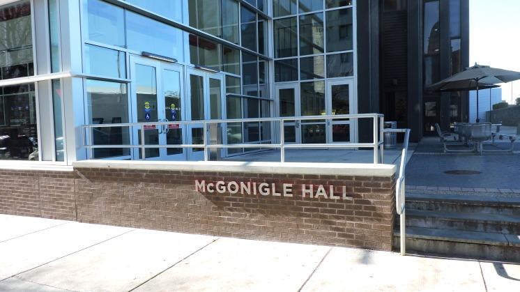 McGonigle Hall Exterior