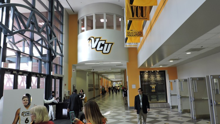 Siegel Center Concourse