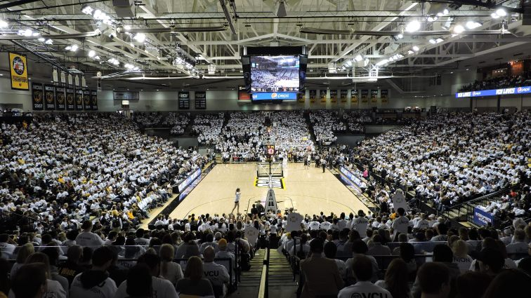 Siegel Center Interior