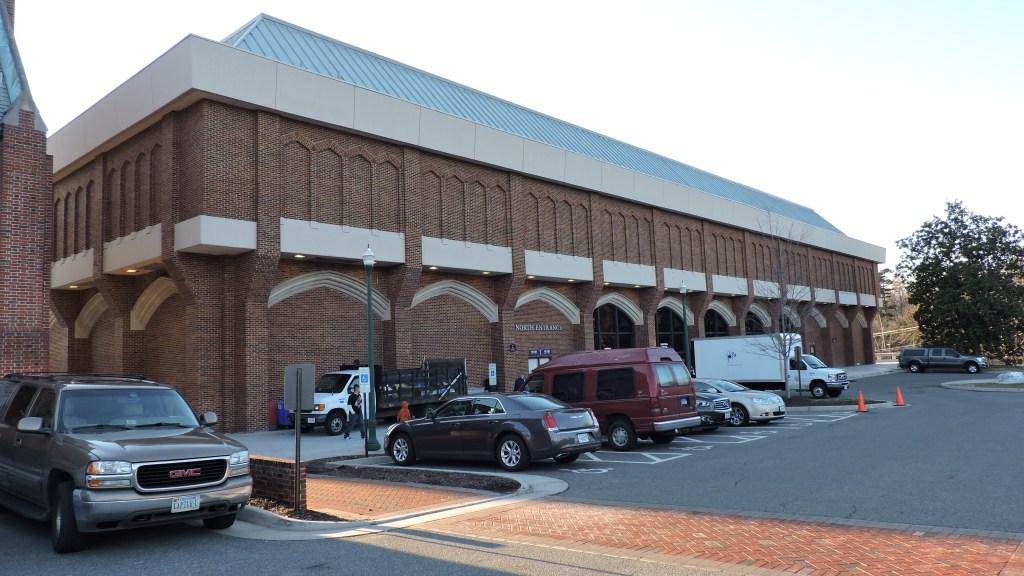 Robins Center Exterior