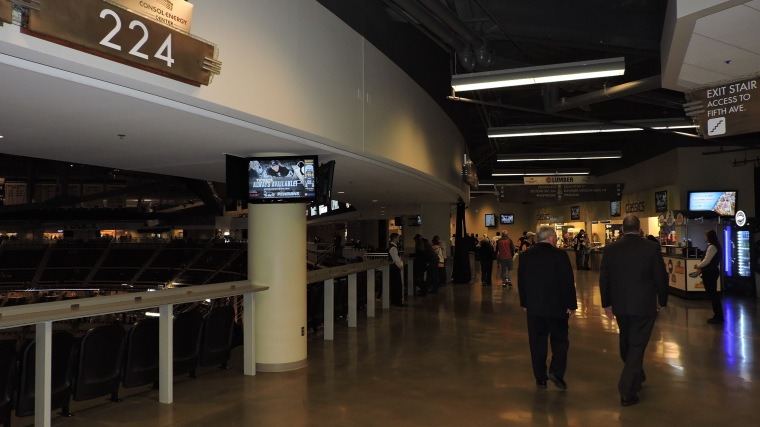 Consol Energy Center Concourse