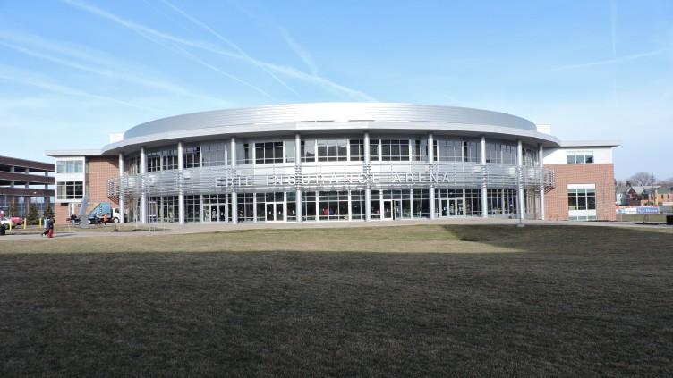 Erie Insurance Arena Exterior