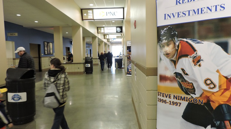 Erie Insurance Arena Concourse
