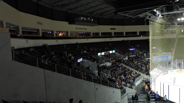 Erie Insurance Arena Interior