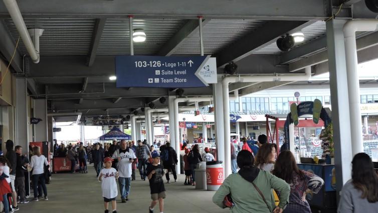 Palisades Credit Union Park Concourse