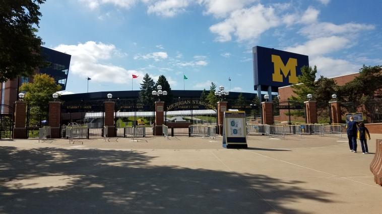 Michigan Stadium Exterior