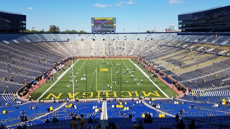 Michigan Stadium Interior
