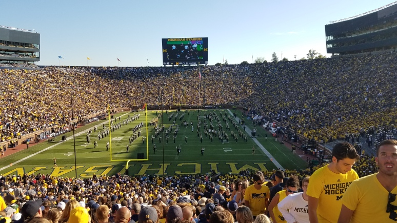 Michigan Stadium Interior