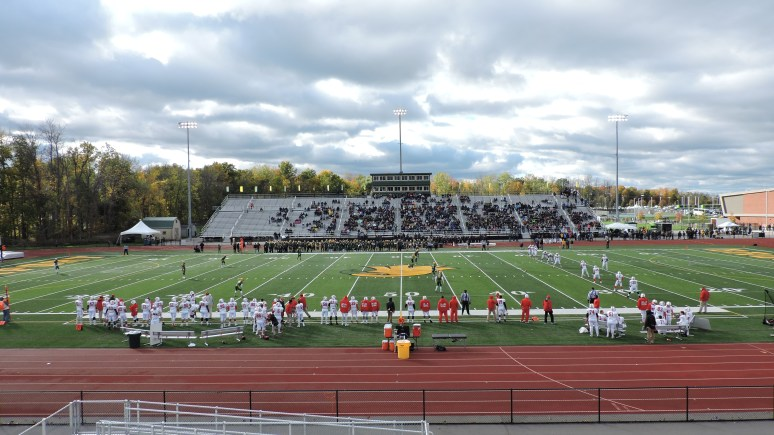 Shriver Stadium Interior