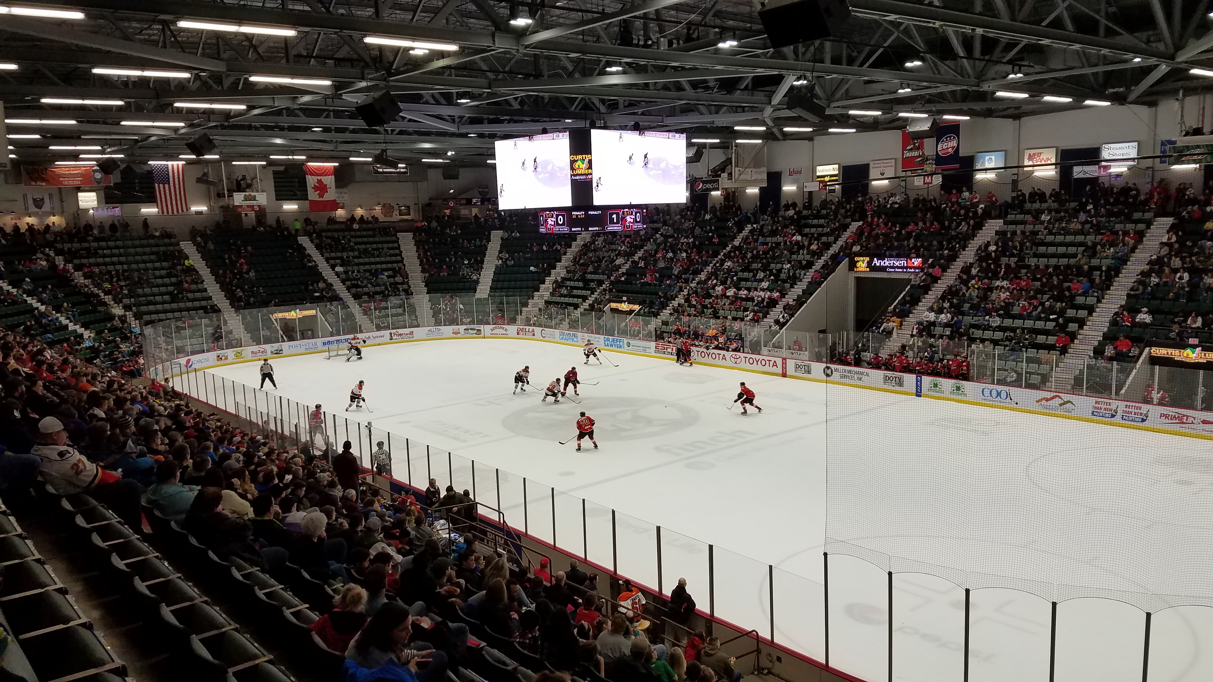 Hockey In Glens Falls And Lake Placid Stadium And Arena Visits